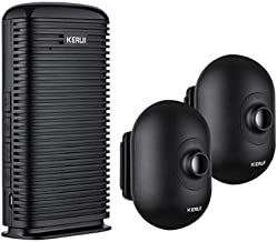 KERUI – Alarma Allée casa inalámbrico DW9, Detector de Movimiento Exterior Impermeable, Sistema de Alarma Extensible DIY Garaje, casa, Boutique, fábrica