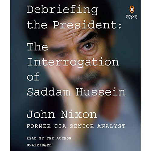 Debriefing the President audiobook cover art