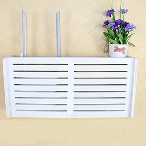 yazi Wall Hanging Decoration Wifi Router Shelf TV Set-top Box...
