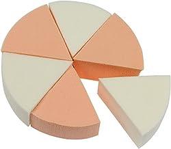 MIAOMIAO 50 sets (1 set = 6 stks) Twee kleurenspons bladerdeeg gezichtsgezicht make-up poeder bladerdeeg met OPP Dustbag 3...