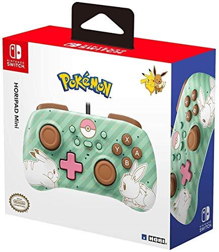 Nintendo Switch HORIPAD Mini - Pokémon: Pikachu et Évoli
