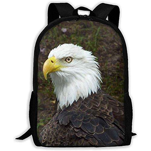 Bald Eagle Finger Spinner Hand Fidget Spinner Finger Toy Smooth Metal Bearing Great for Stress Reducer Boredom Anxiety Focusing ADD ADHD Autism College Rucksack,Fashion Laptop Travel Bag