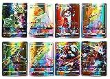 umebiz Pokemon Card, Pokemon Flash Card, Pokemon Card, 60 Cartes Full GX, 60 Cartes...