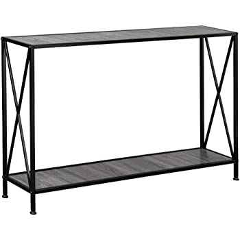 Amazon Com Sofa Table X Style Console Table Tall Wall Table For Entryway For Living Room Tv Entrance Table Kitchen Bar Table Industrial Home Office Computer Desk A Kitchen Dining