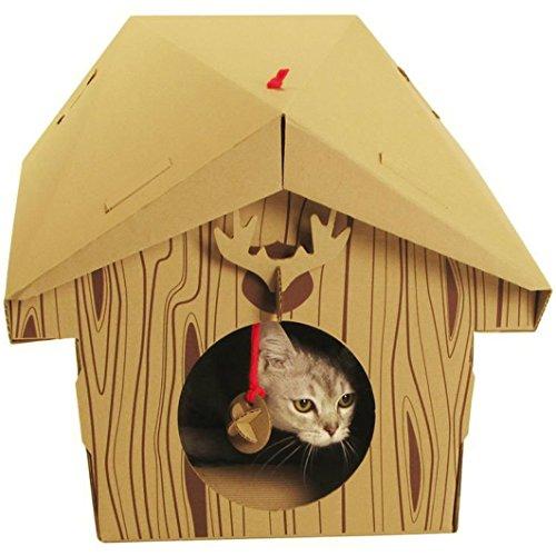 SUCK UK Katzenspielhaus - Hütte