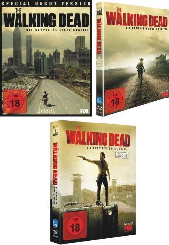 The Walking Dead - Staffel 1-3 (Uncut) [Blu-ray]