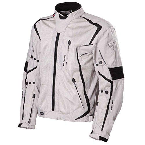 Modeka Mesh 2 Evo Motorradjacke Größe: L Farbe: Grau Textiljacke