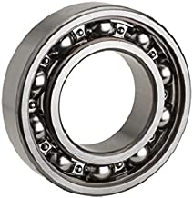 NTN Bearing 16002 Single Row Deep Groove Radial Ball Bearing, Normal Clearance, Steel Cage, 15 mm Bore ID, 32 mm OD, 8 mm Width, Open