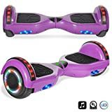 """6.5"""" inch Wheels Original Electric Smart Self Balancing Scooter Hoverboard With Built-In Bluetooth Speaker- UL2272 Certified (PINK)"""