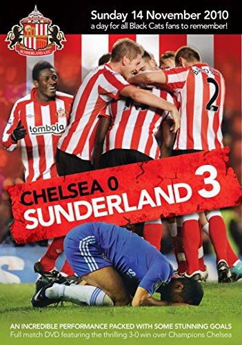 Sunderland 3 Chelsea 0 14 November 2010 [DVD] [Reino Unido]