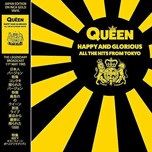 Happy & Glorious All The Hits From Tokyo (Vinyl Gold Limited Edt. Japan)