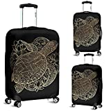 Sea Turtle Luggage Suitcase Cover Protector Decor Turtles Gift Item (Large)