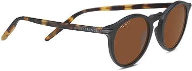 Serengetti Sport Sunglasses Matte Black and Mossy Oak Mineral Drivers