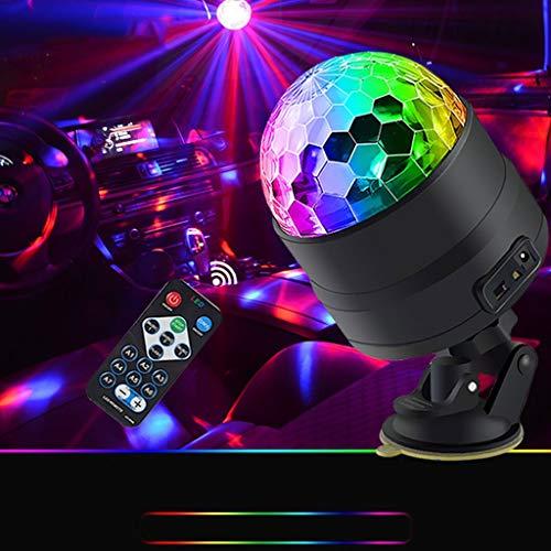 Auto-Innenraum-LED-Dekoration beleuchtet Auto-USB-Sprachsteuerung bunte Lichter Auto KTV-Musik-Blitz Bühnenlampen 11.30