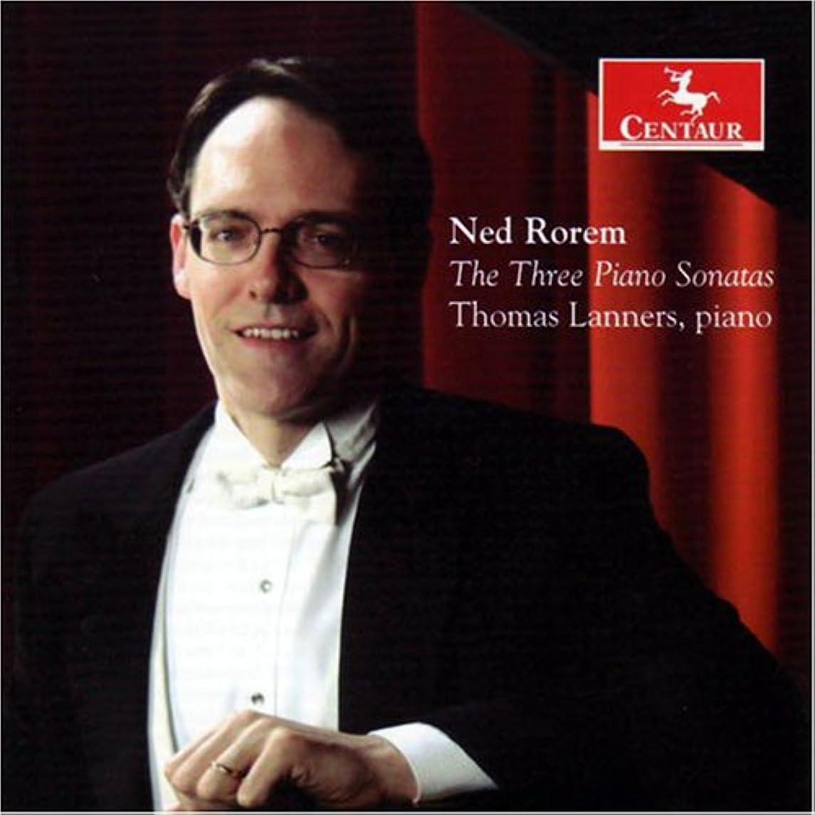 Ned Rorem: The Three Piano Sonatas