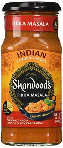 Sharwood's Cooking Sauce Tikka Masala, mild 420g - indische Kochsauce