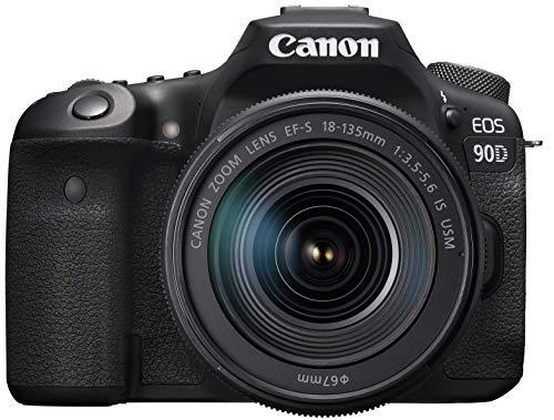 Canon デジタル一眼レフカメラ EOS 90D EF-S18-135 IS USM レンズキット EOS90D18135ISUSMLK
