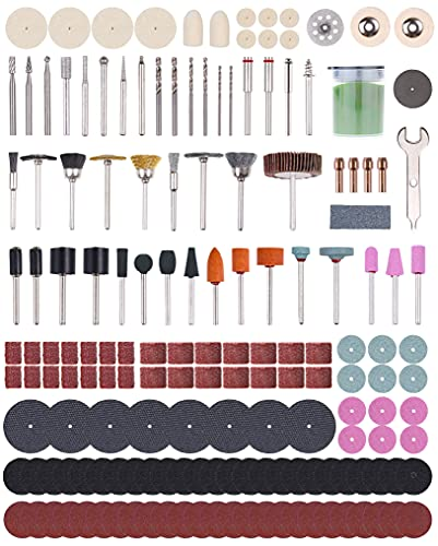 Rotary Tool Accessories Kit, Longmate 427pcs Multiuse Tool Accessories, 1/8