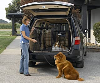 Solutions Series Side-by-Side Double Door SUV Crates 42 x 21 x 30 by MidWest Homes for Pets