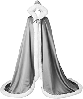 bridal cape with hood