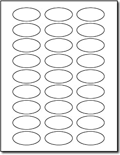 White Oval Labels - 2