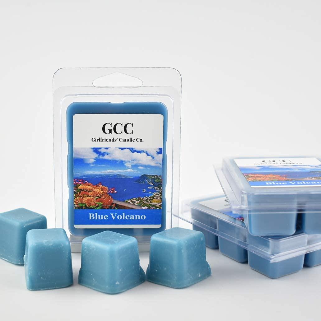 Blue Volcano Scented Portland Mall overseas Wax Pack 3 Melt