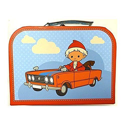 """Kinderkoffer 16300\""""Sandmann im Auto blau klein 20 cm"""
