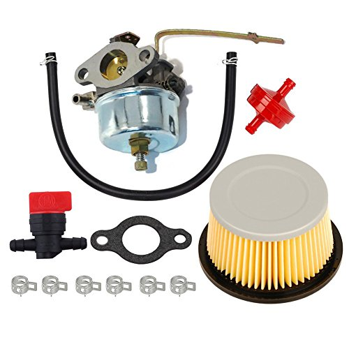 Amazing Deal HIFROM Carburetor with 30727 Air Filter Shut Off Valve Fuel Filter Replacement for Tecu...