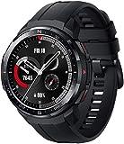 HONOR Watch GS Pro Reloj Inteligente de 48 mm para Hombres 1.39'AMOLED, Llamadas Bluetooth, Monitor SpO2, Seguimiento de frecuencia cardíaca, GPS 5ATM a Prueba de Agua, Negro