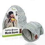 Sharon LEICKE Music Headset Bluetooth Beanie | TÜV Schadstoffgeprüft | Mütze Funkkopfhörer...