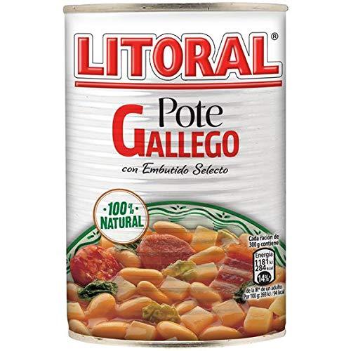 LITORAL Plato Preparado de Pote Gallego, Sin Gluten, 430g