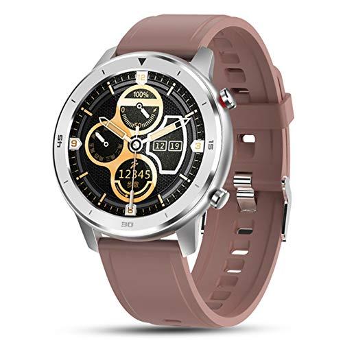 JXFF DT78 Smart Watch Men's Y Mujer Pulsera Fitness Activity Tracker Dispositivo Portátil Monitoreo De Ritmo Cardíaco A Prueba De Agua Reloj Deportivo para Android iOS,F