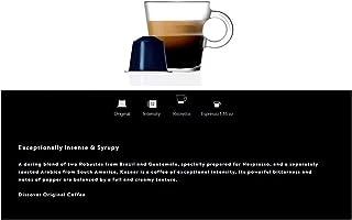 Nespresso Coffee 50 Pods Compatible with Original Line Machines Espresso Flavored Capsules Light/Medium/Dark Roast (All Fl...
