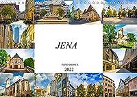 Jena Impressionen (Wandkalender 2022 DIN A4 quer): Zwoelf beeindruckende Bilder der Universitaetsstadt Jena (Monatskalender, 14 Seiten )