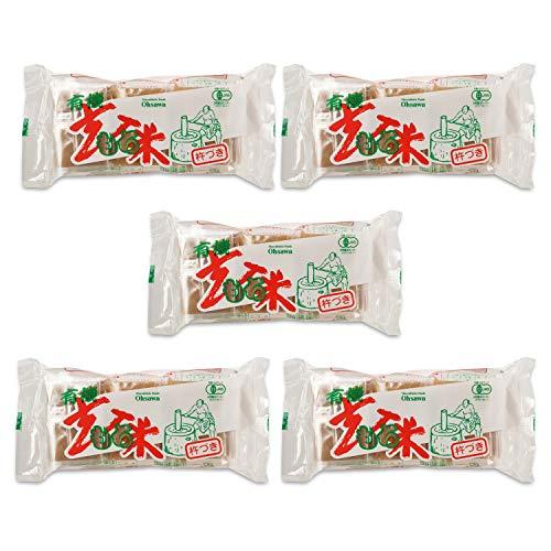 有機玄米もち300g(6個) ×5個                       JANコード:4932828006000 オーサワジャパン��