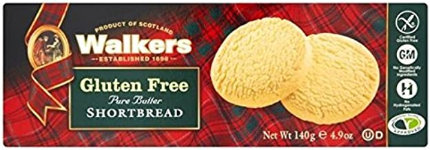 Walkers Gluten Free Shortbread 140g - Pack of 2