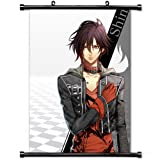 Home Decor Gratifying Art Anime Cosplay Poster with Amnesia Shin Guy Brunette Shadow Pose Wall Scroll Poster Fabric Painting 24 X 36 Inch (60cm X 90 cm)