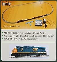 Kato 106-0021 N ES44AC Freight Train Set, CSX/Dark Future