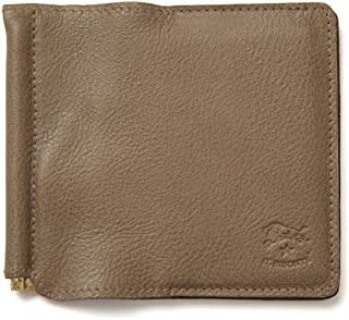 (イルビゾンテ) IL BISONTE レザー マネークリップ カードケース 財布・411621 ユニセックス