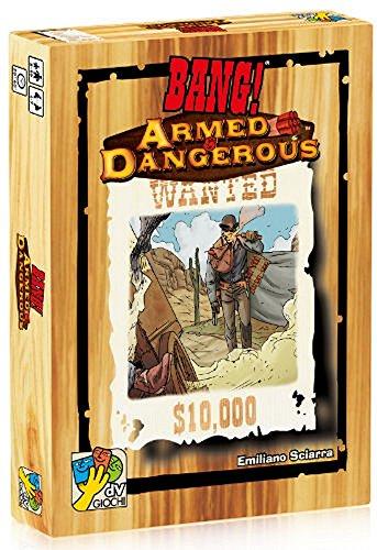 DV Giochi - BANG! : ARMED & DANGEROUS Espansione Gioco da Tavolo Italiano