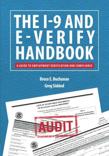 Preisvergleich Produktbild The I-9 and E-Verify Handbook: A Guide to Employment Verification and Compliance