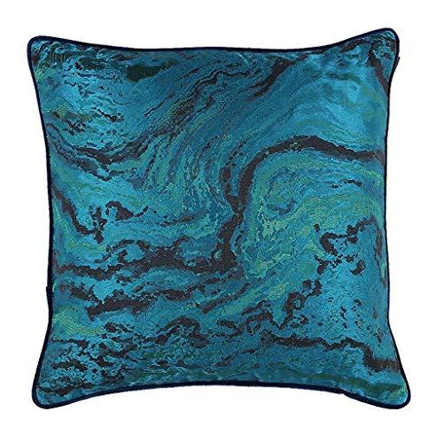 BZCDX kussen katoen comfortabel materiaal patroon marmeren sofa afneembare hoezen grijs