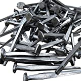 1lb Box of 1 1/2' (4d) Standard Steel Clinch-Rosehead Square Nails.