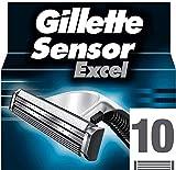 Gillette Sensor 3, Lames de Rasoir Homme, Pack de 10 lames [Officiel]