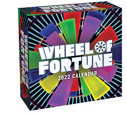 Wheel of Fortune 2022 Day-to-Day Calendar