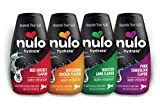 Nulo Hydrate for Dogs Water Flavoring, Variety Sampler 4 Pack - Tasty Dog Water Enhancer with Electrolytes, Amino Acids, B-Vitamins - Premium Water Supplement for Dogs
