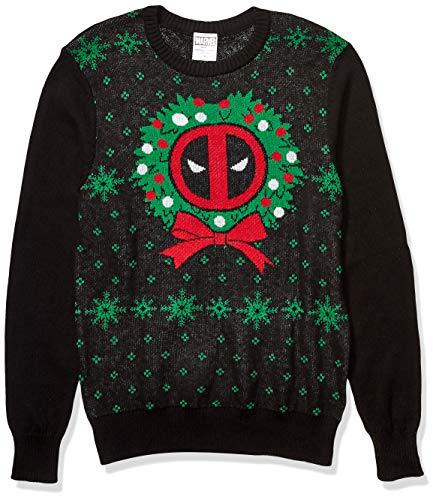 Ugly Christmas Sweater Men's Marvel