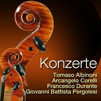 Albinoni, Corelli, Durante & Pergolesi: Konzerte