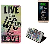 K-S-Trade 360° Wallet Case protective cover for Allview P8