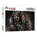 ZTCLXJ Infantiles De Madera Ecológica De Puzzle Chimpancé Animal De Fantasía 1000 Piezas Jigsaw Puzzle Game para Adultos Niño Niña Adultos Niños Art 52 × 38 Cm